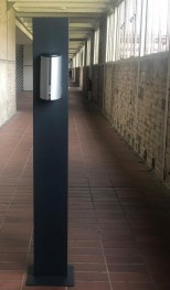 Hygiene Station mit berührungslosem Design Desinfektionsmittelspender 700ml - sofort verfügbar
