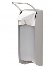 Flüssigseifen- und Desinfektionsmittelspender IMP E A/K 1000ml mit kurzem Bedienhebel