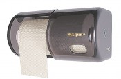 WC Doppelrollenspender Rauchglas