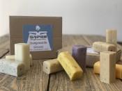Die kleine Öko Box 2 - sapor Trockenseife gemischt - 10er Box