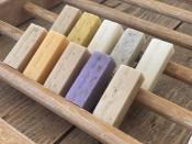 Die kleine Öko Box 1 - sapor Trockenseifen gemischt - 10er Box